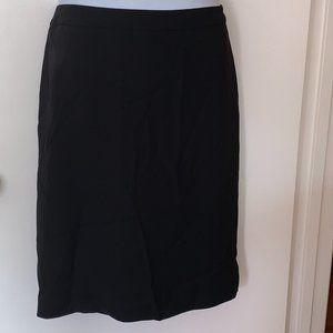 J. Jill Black Pencil Skirt Size M